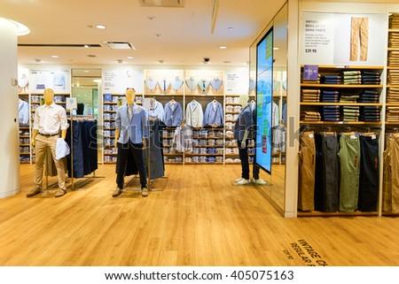 new york march 20 2016 inside of uniqlo store uniqlo co