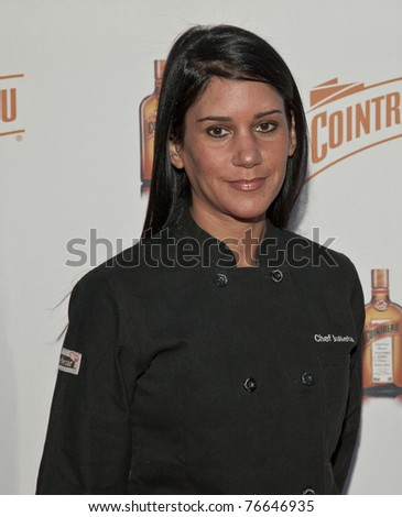 NEW YORK - MAY 05: Chef Julietta Ballesteros attends launch of Dita Von Teese new signature cocktail 'The Cointreau MargaDita' at Los Feliz restaurant on May 05, 2011 in New York City