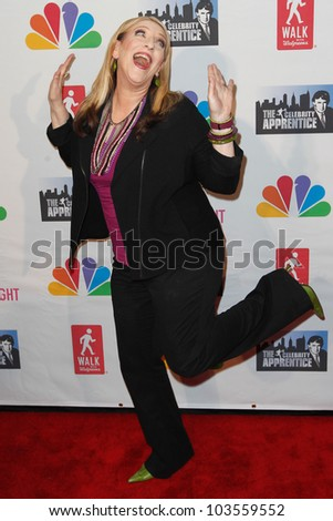 NEW YORK-MAY 20: Comedienne Lisa Lampanelli attends the 'Celebrity Apprentice' Live Finale at the American Museum of Natural History on May 20, 2012 in New York City.