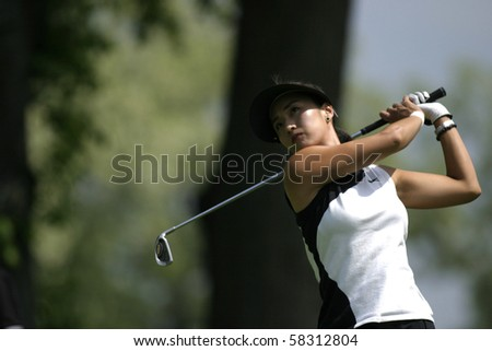 NEW YORK- MAY 23: Grace Park in action during the first round of the Sybase Classic  May 23,2004 in New Rochelle, New York.
