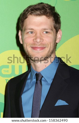 NEW YORK - MAY 16: Joseph Morgan attends the 2013 CW Upfront Presentation at The London Hotel on May 16, 2013 in New York City.