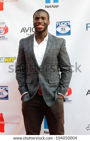NEW YORK-MAY 31: New York Giants Prince Amukamara attends the 4th annual Tuck�s Celebrity Billiards Tournament on May 31, 2012 in New York City.