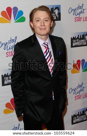 NEW YORK-MAY 20: Singer Clay Aiken attends the 'Celebrity Apprentice' Live Finale at the American Museum of Natural History on May 20, 2012 in New York City.