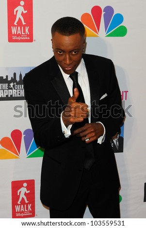 NEW YORK-MAY 20: TV personality Arsenio Hall attends the 'Celebrity Apprentice' Live Finale at the American Museum of Natural History on May 20, 2012 in New York City.