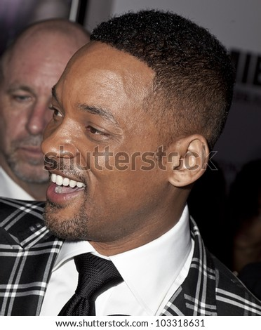 NEW YORK - MAY 23: Will Smith attends the 'Men In Black 3' New York Premiere at Ziegfeld Theatre on May 23, 2012 in New York City.