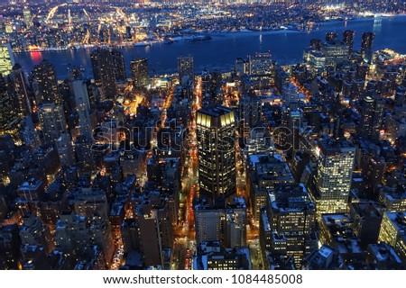 new york night view  #1084485008