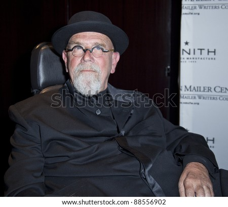 NEW YORK - NOVEMBER 08: Artist Chuck Close attends the 3rd Annual Norman Mailer Center Gala at the Mandarin Oriental Hotel on November 8, 2011 in New York City