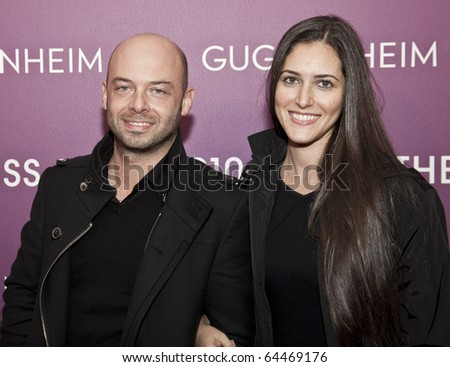 NEW YORK - NOVEMBER 04: Michael Klug and Brittany Sager attend the 2010 Hugo Boss Prize at Solomon R. Guggenheim Museum on November 4, 2010 in New York City.