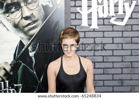 NEW YORK - NOVEMBER 15: Newsworthy: Actress Emma Watson attends the premiere of 'Harry Potter and the Deathly Hallows: Part 1' at Alice Tully Hall on November 15, 2010 in New York City.
