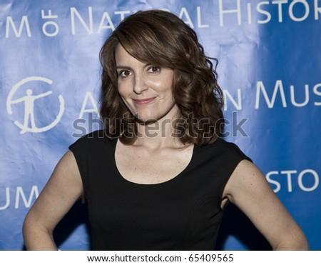 NEW YORK - NOVEMBER 18: Tina Fey attends American Museum of Natural History Gala on November 18, 2010 in New York, City.
