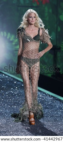 NEW YORK - NOVEMBER 19: Victoria's Secret Fashion Show model Caroline Winberg on November 19, 2009 at the Lexington Armory in New York City.