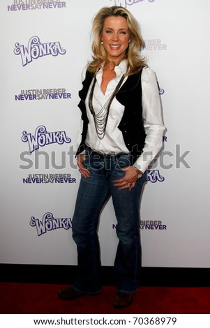 """NEW YORK, NY - FEBRUARY 02: Deborah Norville attends the """"Justin Bieber: Never Say Never"""" New York movie premiere at the Regal E-Walk 13 Theater on February 2, 2011 in New York City."""