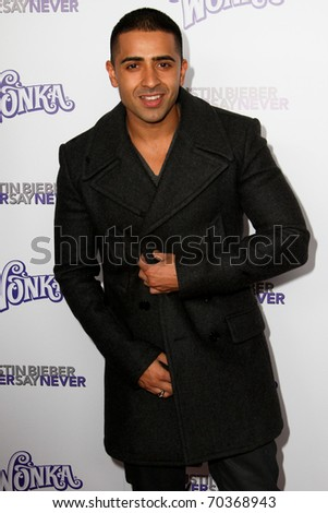 "NEW YORK, NY - FEBRUARY 02: Jay Sean attends the ""Justin Bieber: Never Say Never"" New York movie premiere at the Regal E-Walk 13 Theater on February 2, 2011 in New York City."