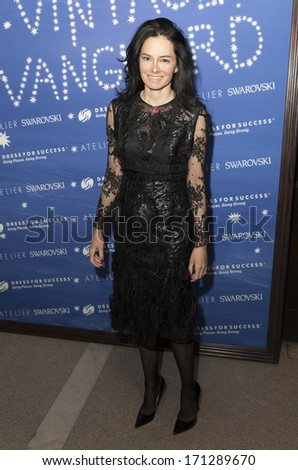 NEW YORK, NY - JANUARY 13, 2014: Dr. Lisa Airan attends the Vintage Vanguard event benefiting Dress For Success at Jane Hotel in New York City