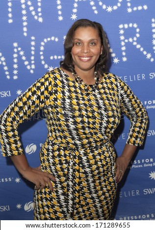 NEW YORK, NY - JANUARY 13, 2014: Joi Gordon attends the Vintage Vanguard event benefiting Dress For Success at Jane Hotel in New York City