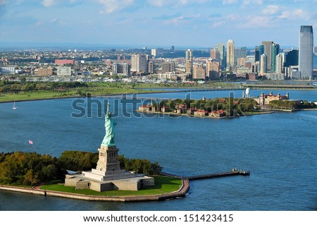 new york   oct 15  aerial view...