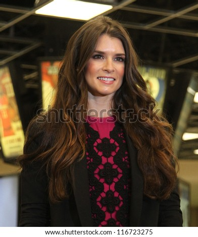 NEW YORK-OCT 25: Danica Patrick attends the unveiling of the new Tissot Swiss Watches Lobby Clocks at Madison Square Garden Box Office on October 25, 2012 in New York City.