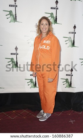 NEW YORK - OCTOBER 31: Judy Gold attends the 18th annual \'Hulaween In The Big Easy\' Event at The Waldorf Astoria on October 31, 2013 in New York City.
