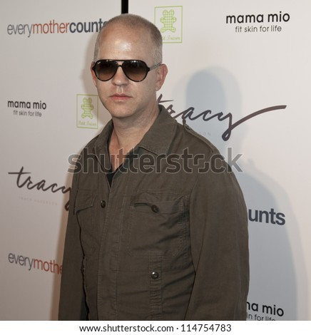 NEW YORK - OCTOBER 05: Ryan Murphy attends launch of The Tracy Anderson Method Pregnancy Project at Le Bain At The Standard Hotel on October 05, 2012 in New York City. - stock photo