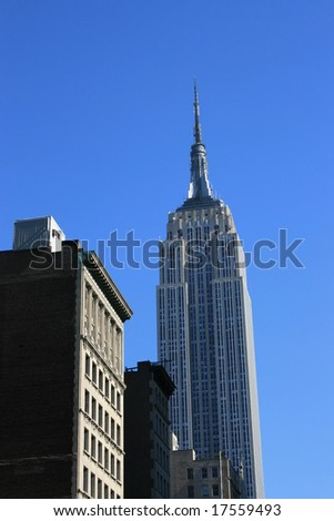 New York's Empire State Building.