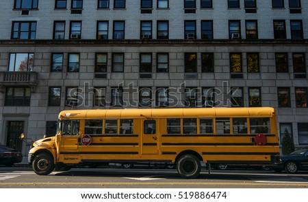 New york school bus