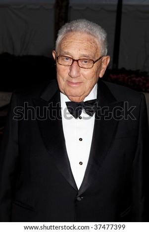 NEW YORK - SEPTEMBER 21: Dr. Henry A. Kissinger attends the Metropolitan Opera season opening  at the Lincoln Center for the Performing Arts on September 21, 2009 in New York City. - stock photo