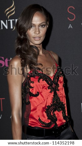 NEW YORK - SEPTEMBER 05: Joan Smalls attends the 9th annual Style Awards during Mercedes-Benz Fashion Week at The Stage Lincoln Center on September 5, 2012 in New York City