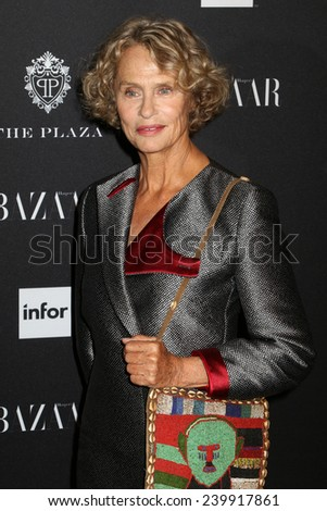 NEW YORK - SEPTEMBER 5: Lauren Hutton attends the Harper\'s Bazaar ICONS event at the Plaza Hotel on September 5, 2014 in New York City.