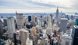 New York Skyline during winter