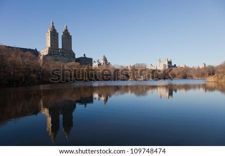 New York Skyline from Central Park