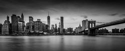 New York skyline, view from Brooklyn