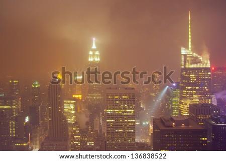 New York snowstorm