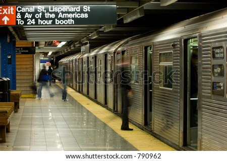New York subway, Canal street station