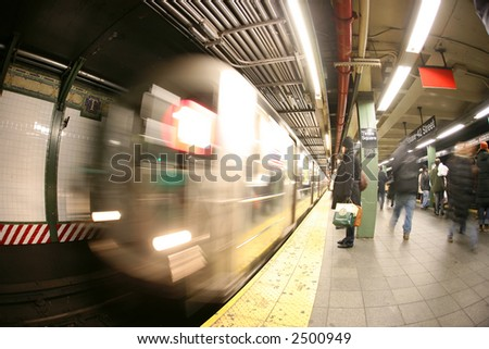 New York - Subway, Times Square