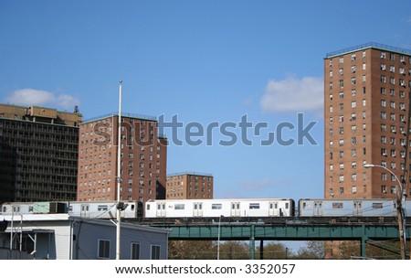 New york train to coney island