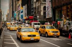 New York Taxi. NYC. USA