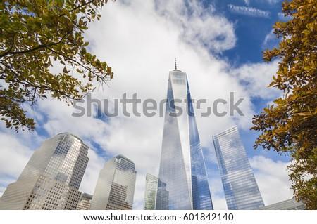 new york world trade center - Shutterstock ID 601842140