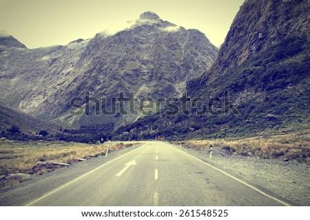 new zealand  fiordland. the...