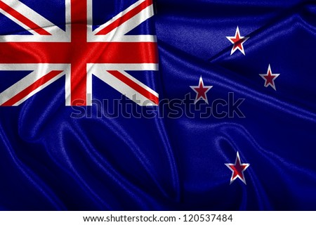 New Zealand's national flag.