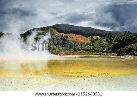 new zealand. zone of geothermal ...