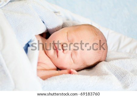 stock photo : newborn