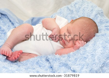 Baby Photo on Newborn Baby Boy Stock Photo 31879819   Shutterstock