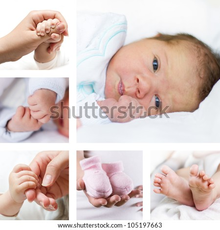 Newborn baby collection