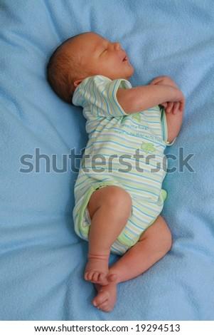 Newborn baby - 5 days old baby sleeping