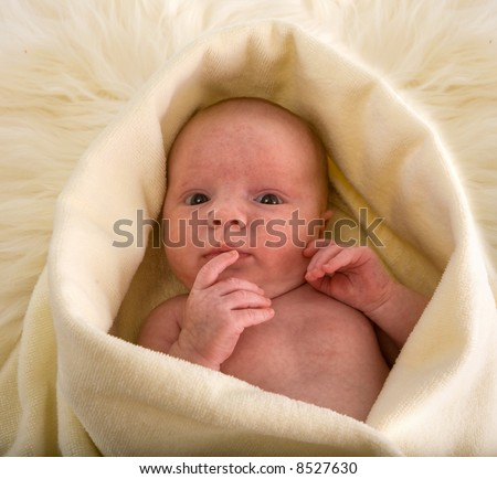 newborn baby girl ,10 days old