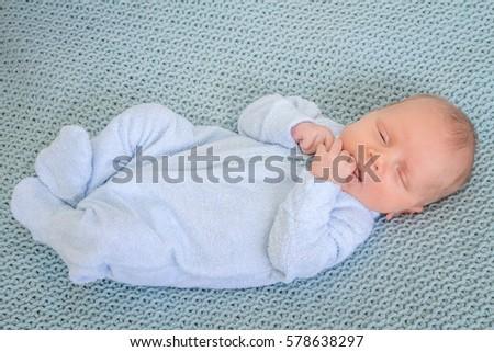 newborn baby portrait #578638297