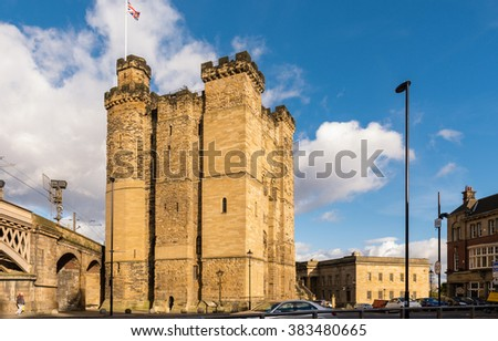 Newcastle Castle Keep / Newcastle's Castle Keep and Black Gate in the city centre are all that remain of a medieval fortification which gave the city its name.