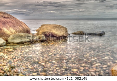 Newfoundland Rocky Shoreline #1214082148