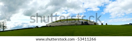 Newgrange was constructed over 5,000 years ago (about 3,200 B.C.), making it older than Stonehenge in England and the Great Pyramid of Giza in Egypt.