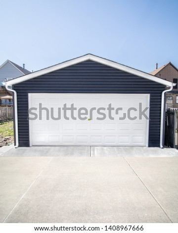 Newly Built Custom Built Garage  #1408967666